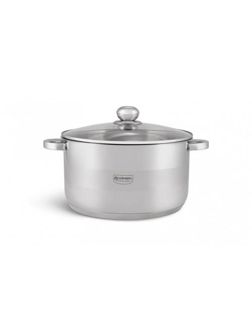 Edënbërg kookpan met deksel - Ø 16 cm- RVS